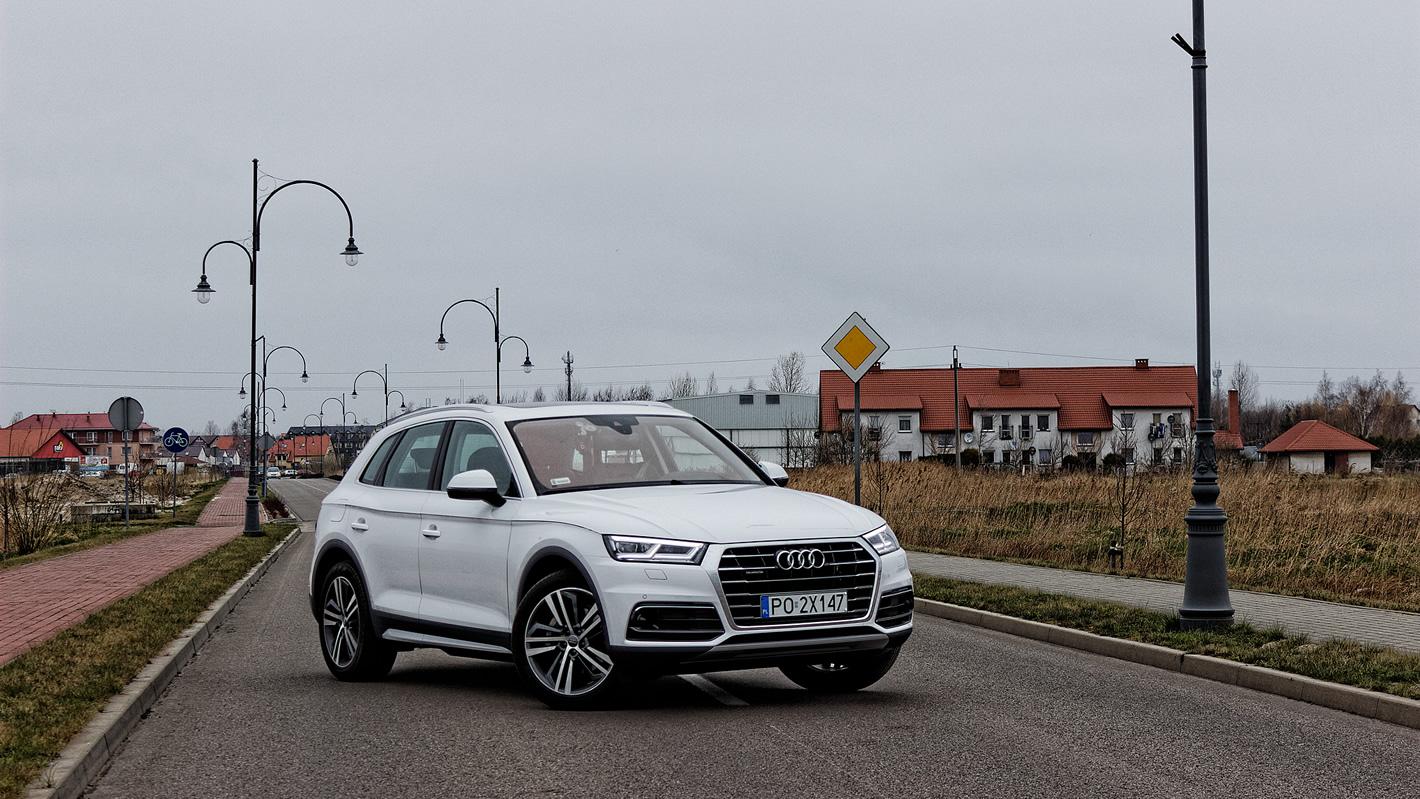 Audi Q5 świetnie się prowadzi