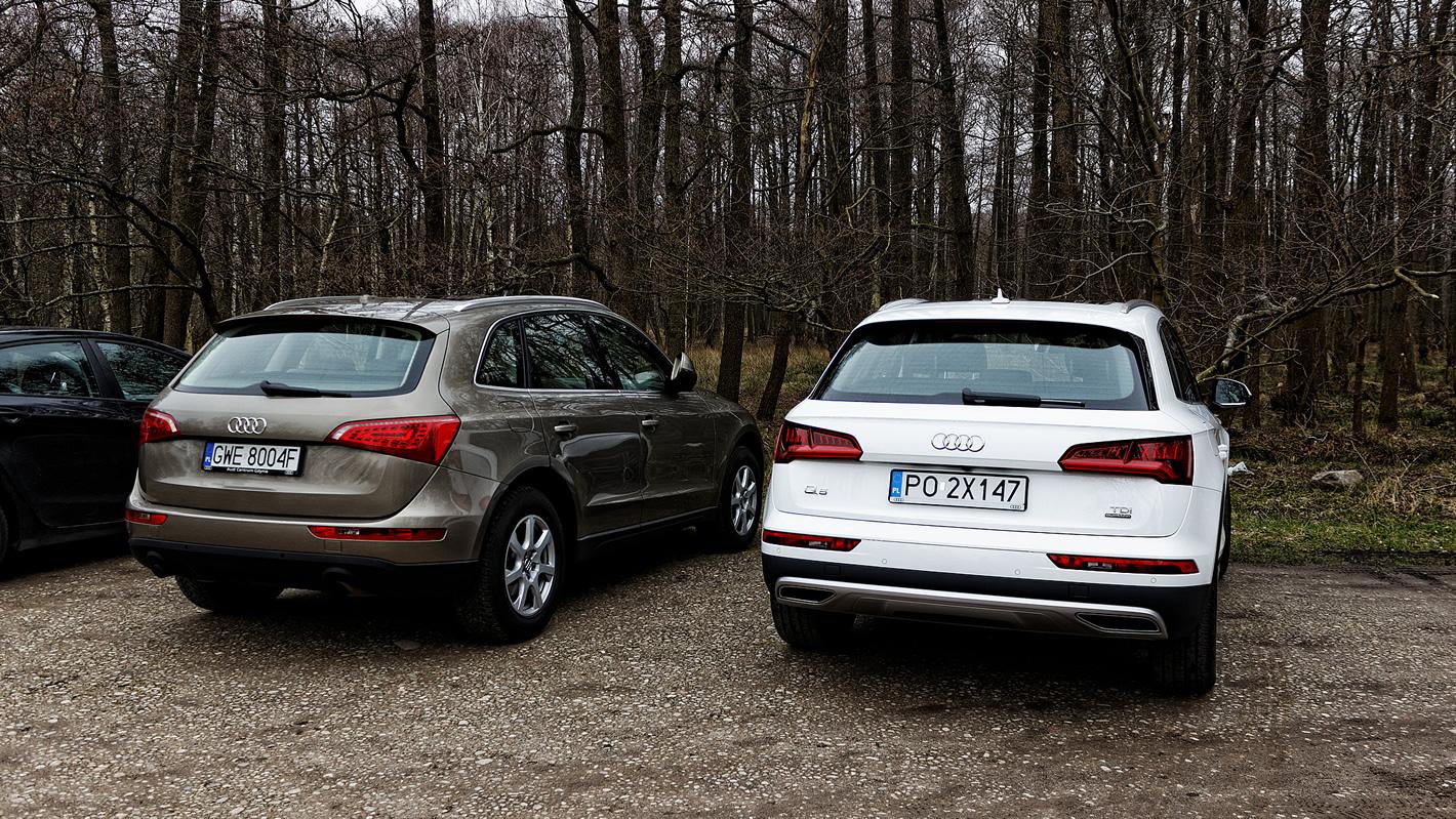 Nowe Audi Q5 w porównaniu ze starym Q5