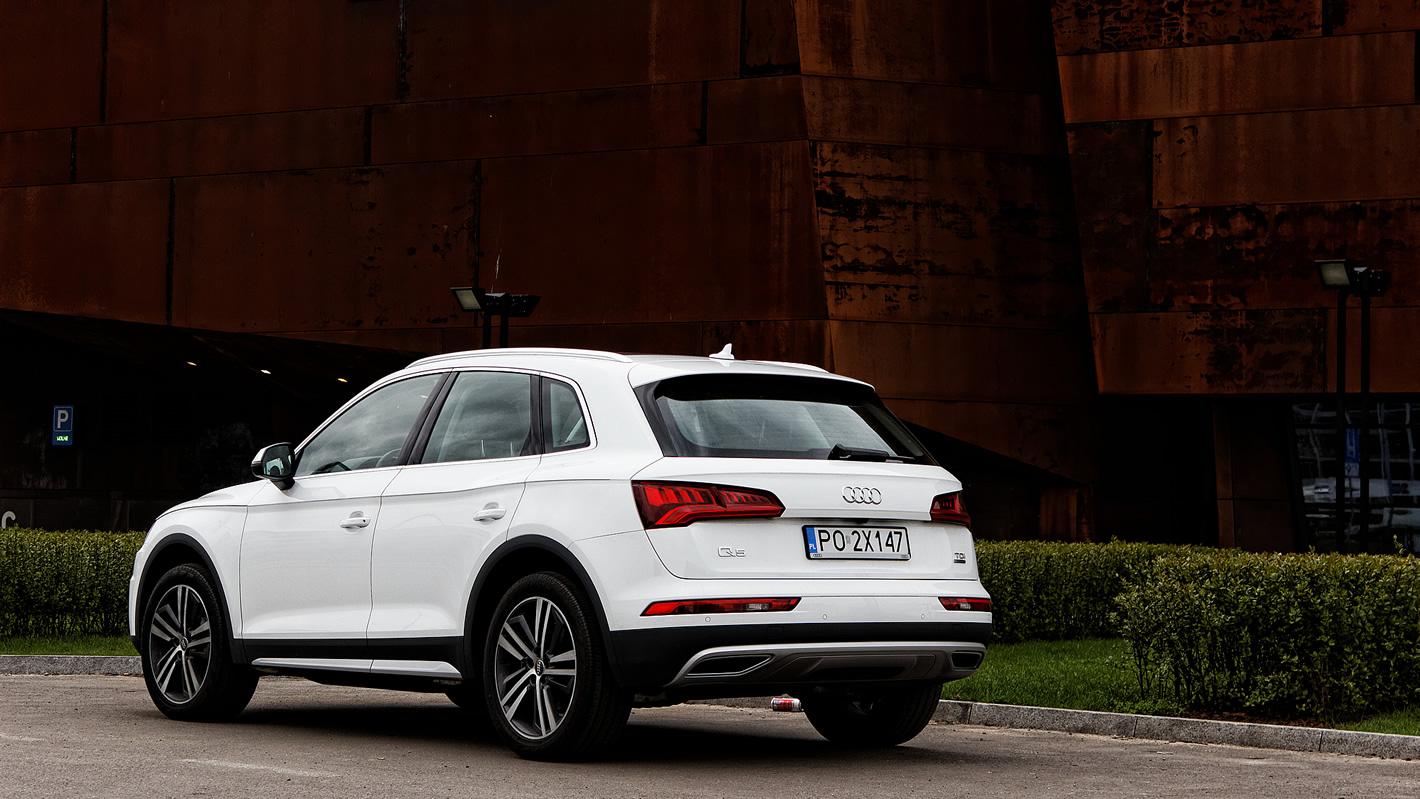 Audi Q5 - stylistyka z tyłu