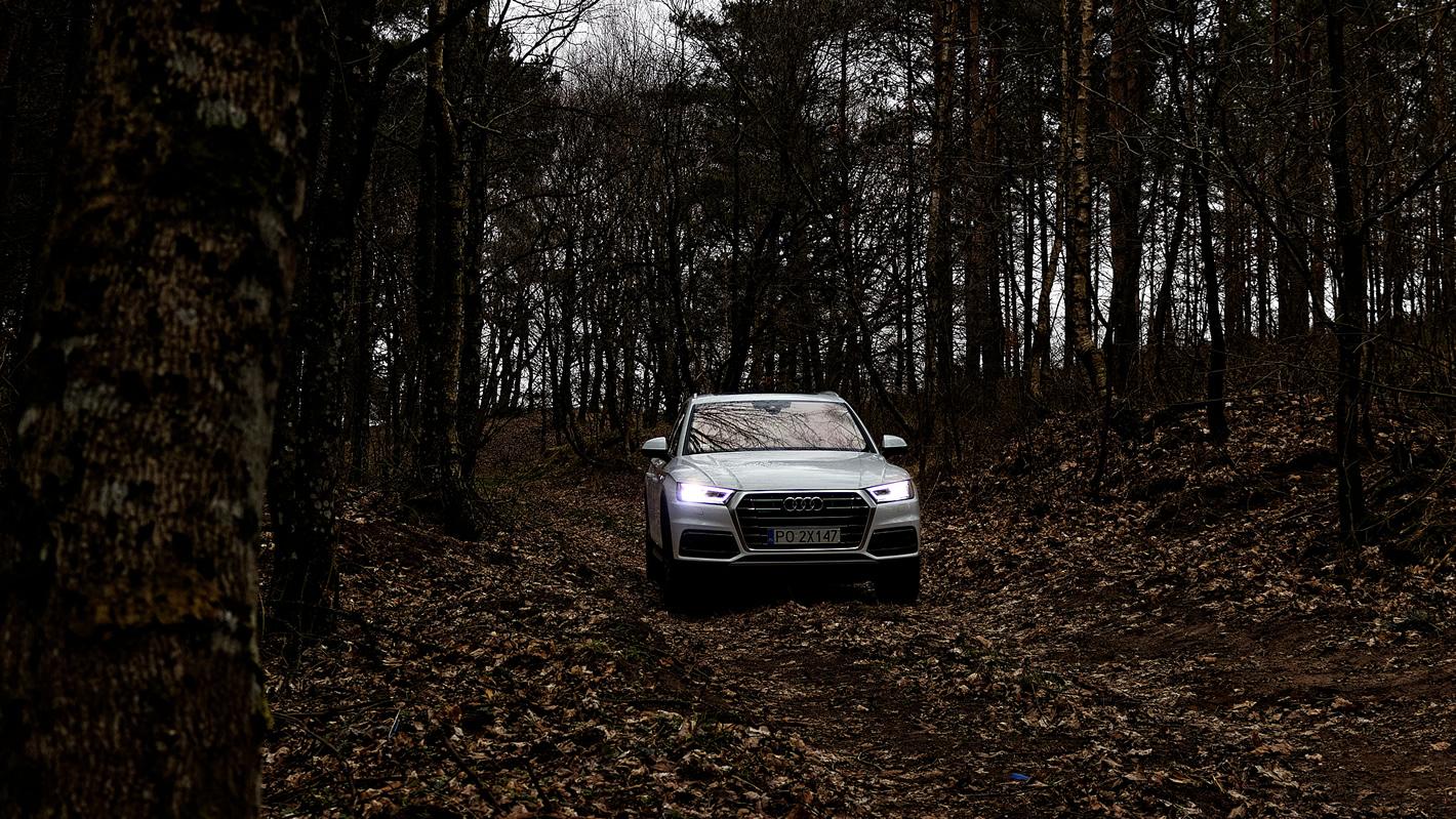 Audi Q5 - światła Matrix LED