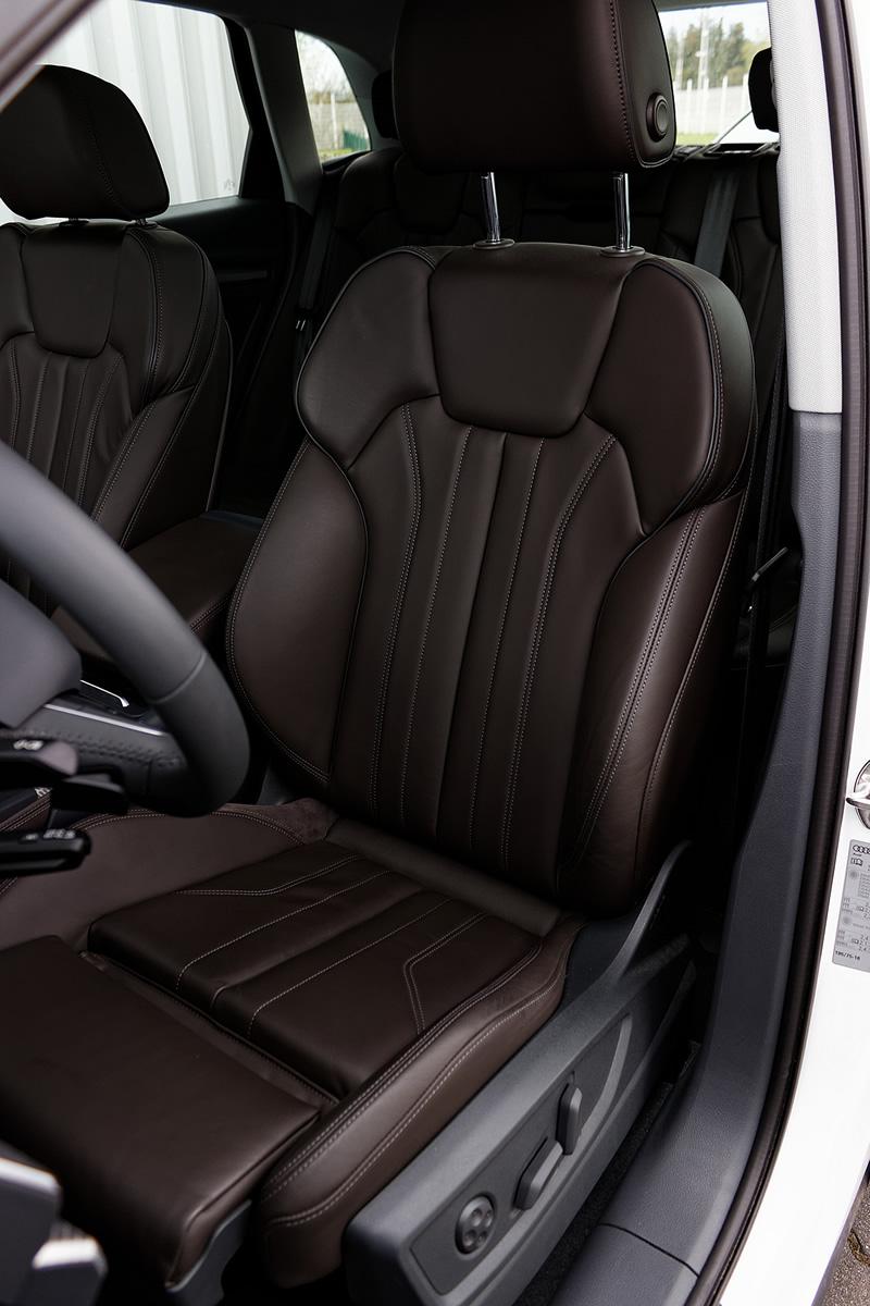 Audi Q5 - przedni fotel