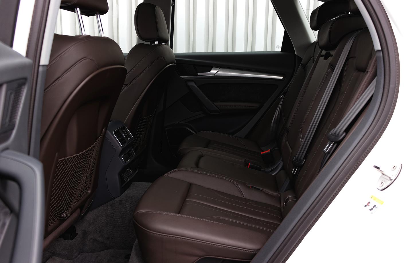 Audi Q5 - ilość miejsca na tylnej kanapie