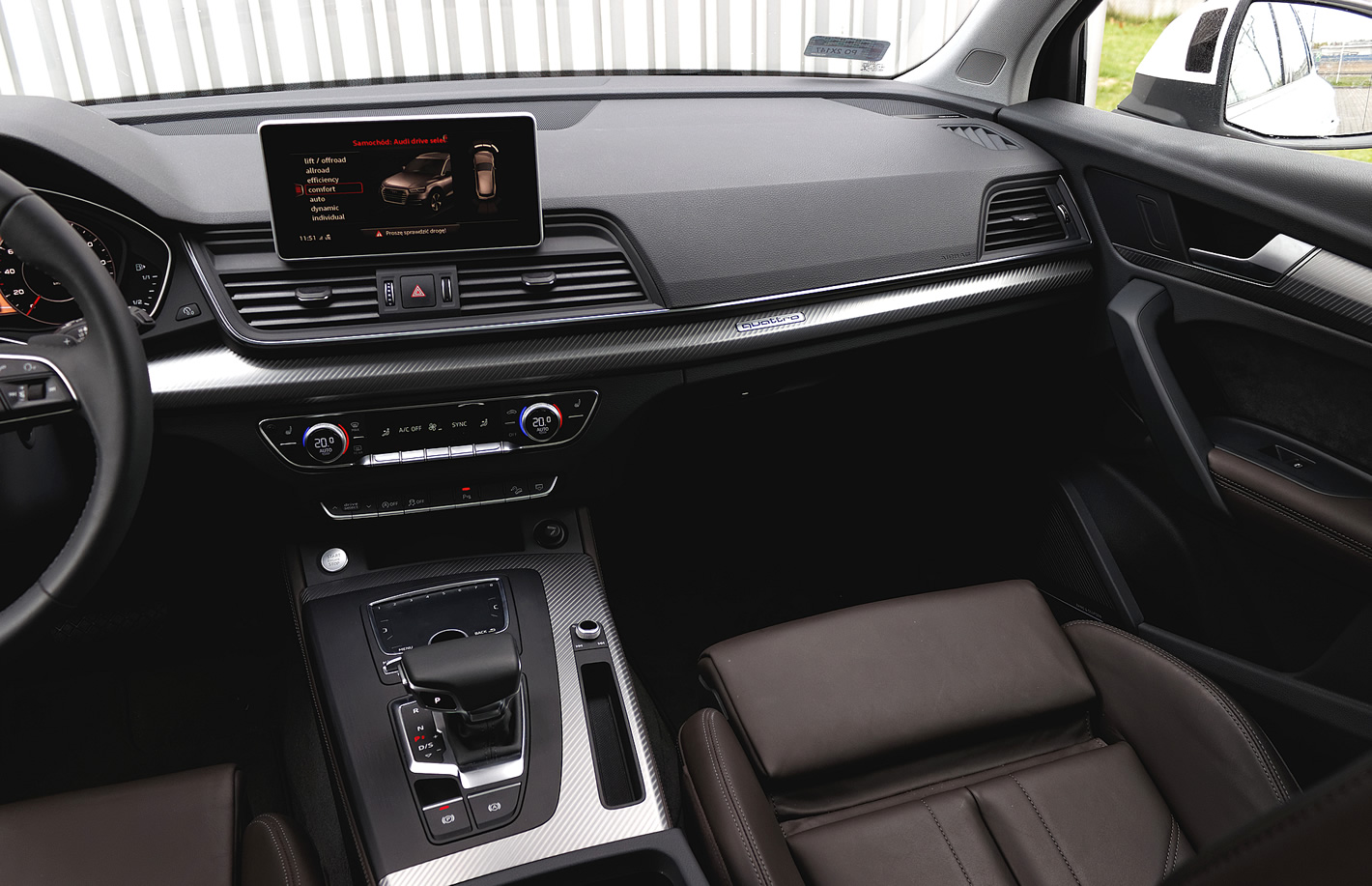 Audi Q5 - kokpit
