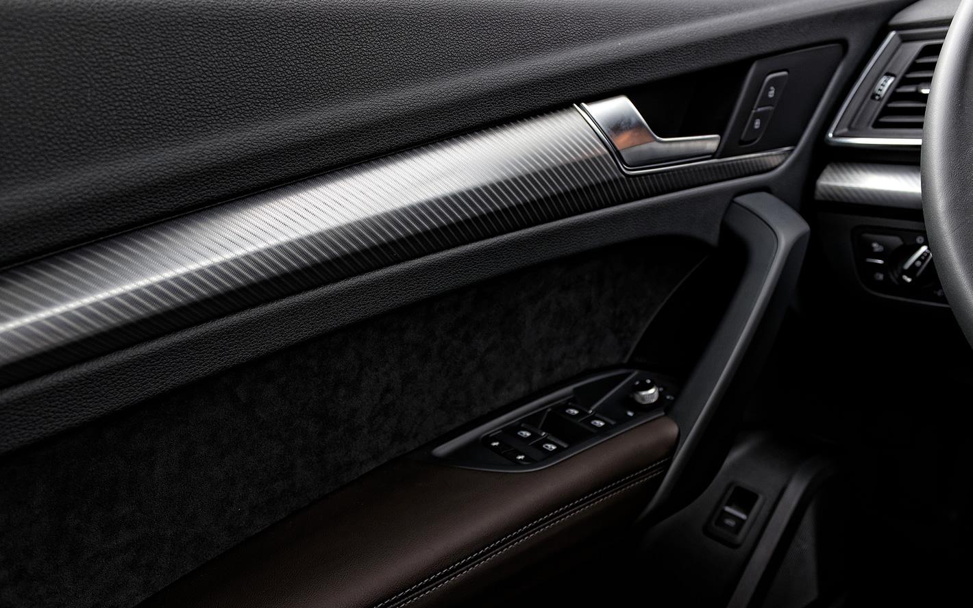 Audi Q5 - wysoka jakość wykonania wnętrza