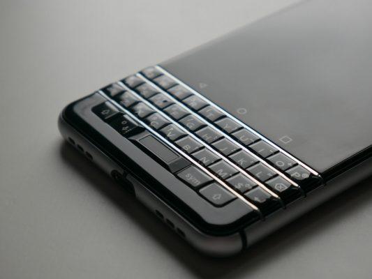 BlackBerry KeyOne - klawiatura