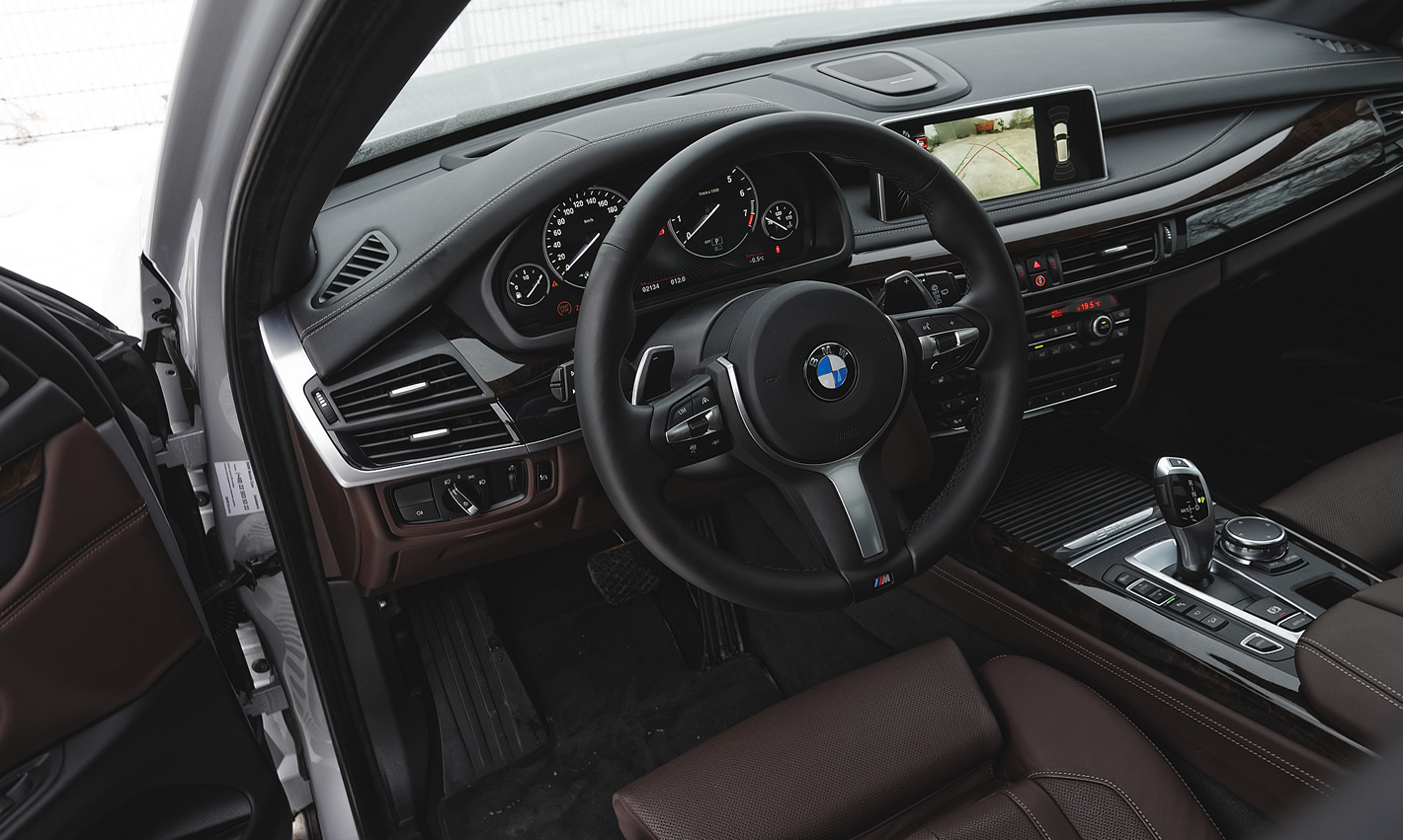BMW X5 xDrive40e iPerformance - kokpit