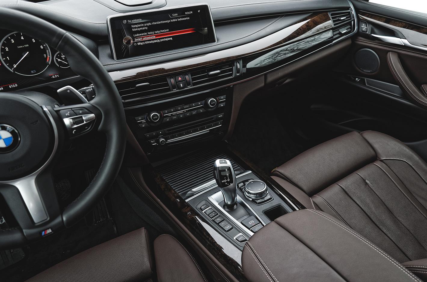 BMW X5 xDrive40e iPerformance - tryby jazdy