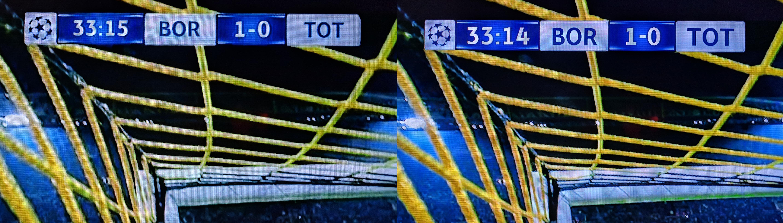 canal+ z jakością 4K i bez - porównanie. Zdjęcie 2
