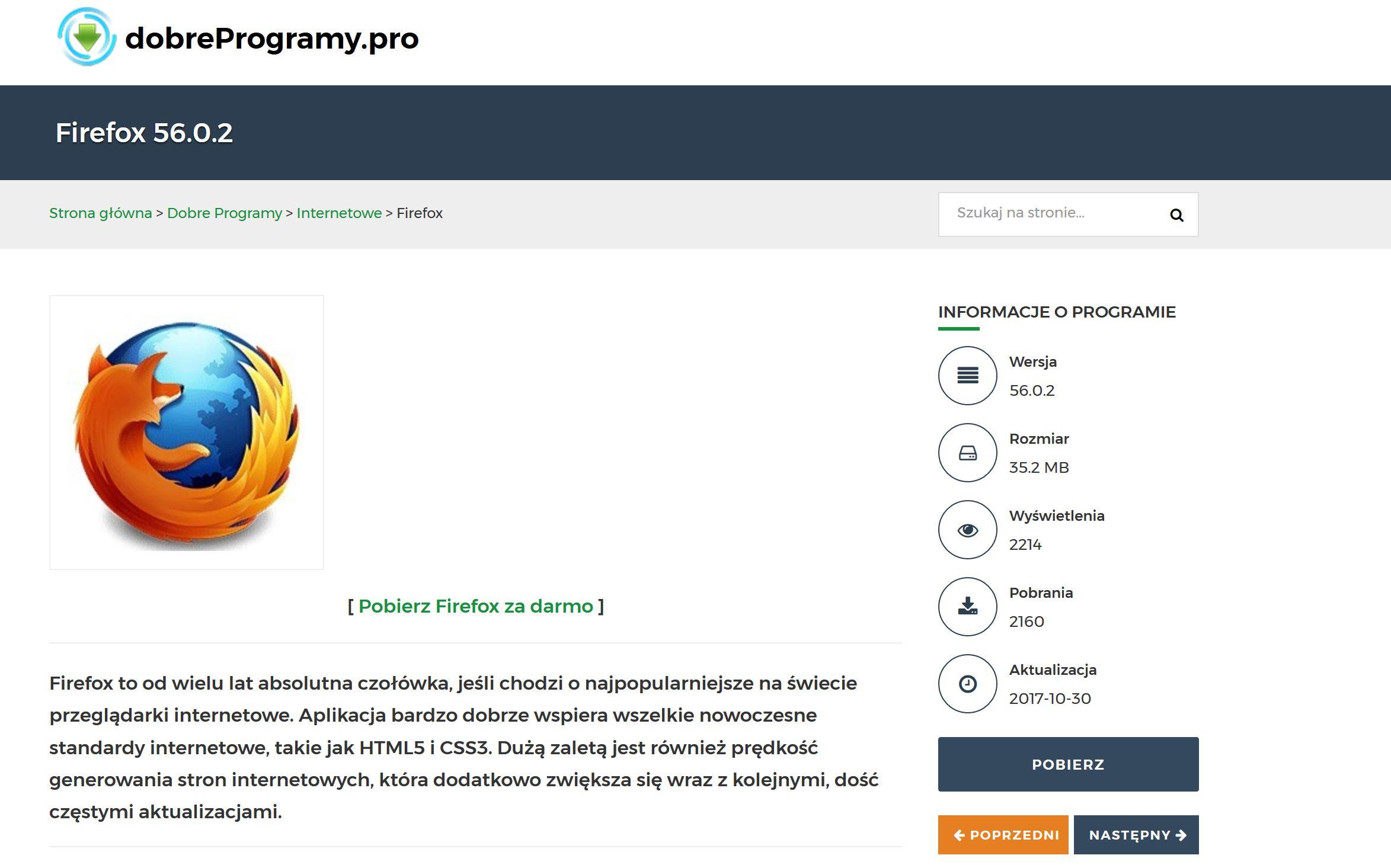 Firefox Quantum dobreprogramy.pro pobieranie