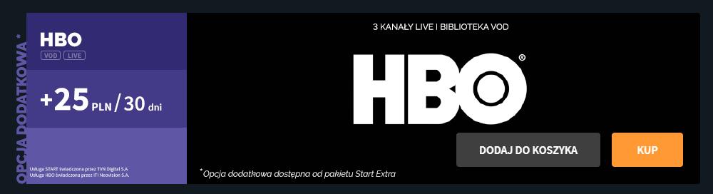 Kanały HBO i HBO VOD - oferta, reklama