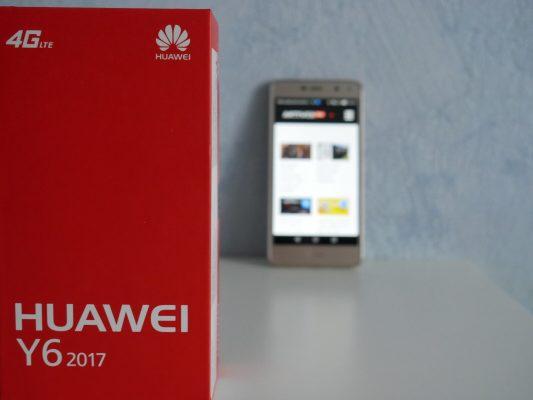 huawei y6 2017 pudełko