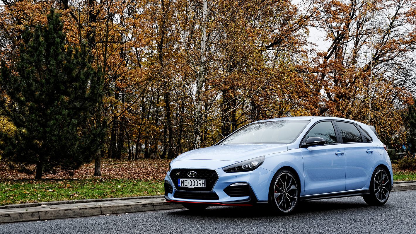 Hyundai i30 N Performance - agresywny wygląd