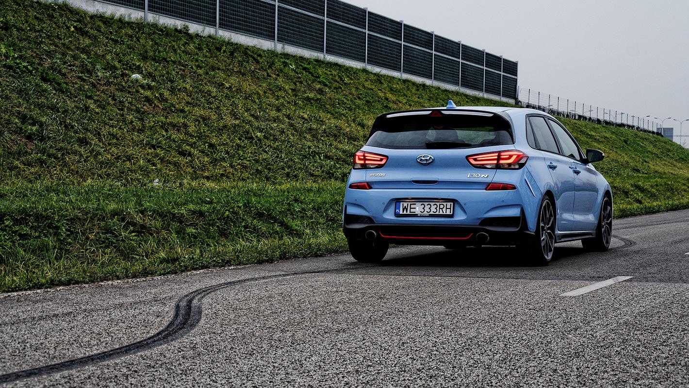 Hyundai i30 N Performance z elektronicznie sterowanym mechanizmem różnicowym