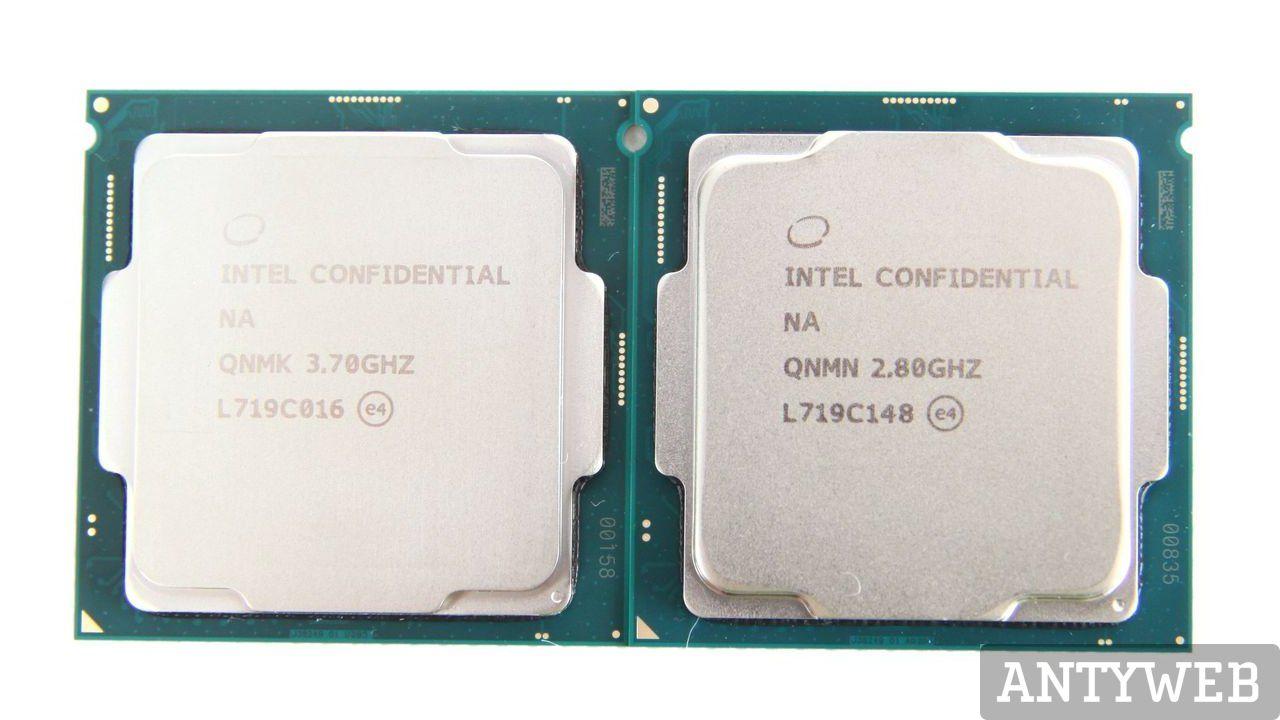 Intel Coffee Lake ceny