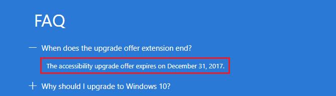 darmowa aktualizacja Windows 10