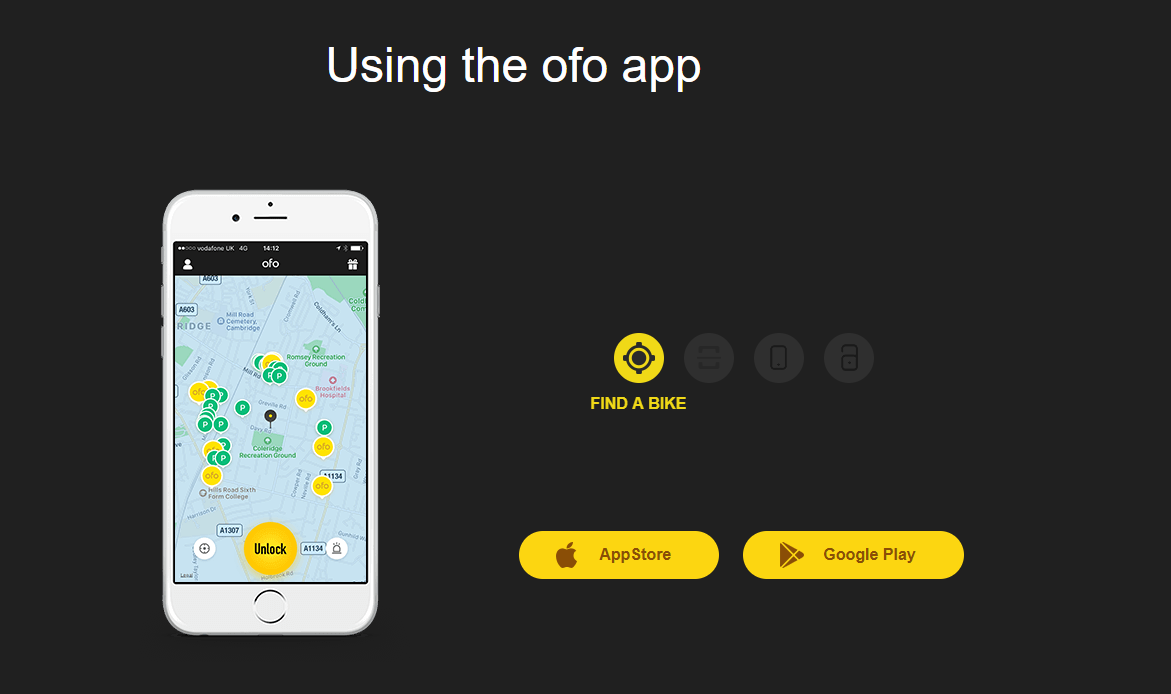 ofo app