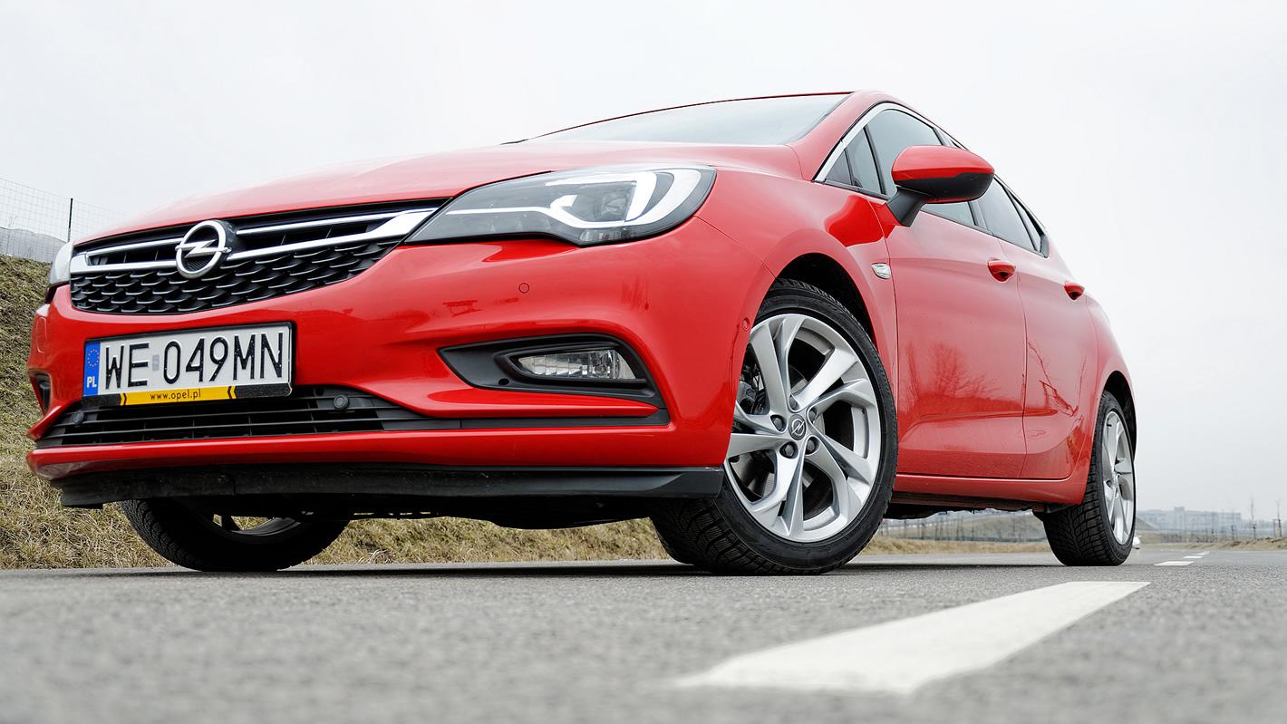 Opel Astra przekonstruowane zawieszenie