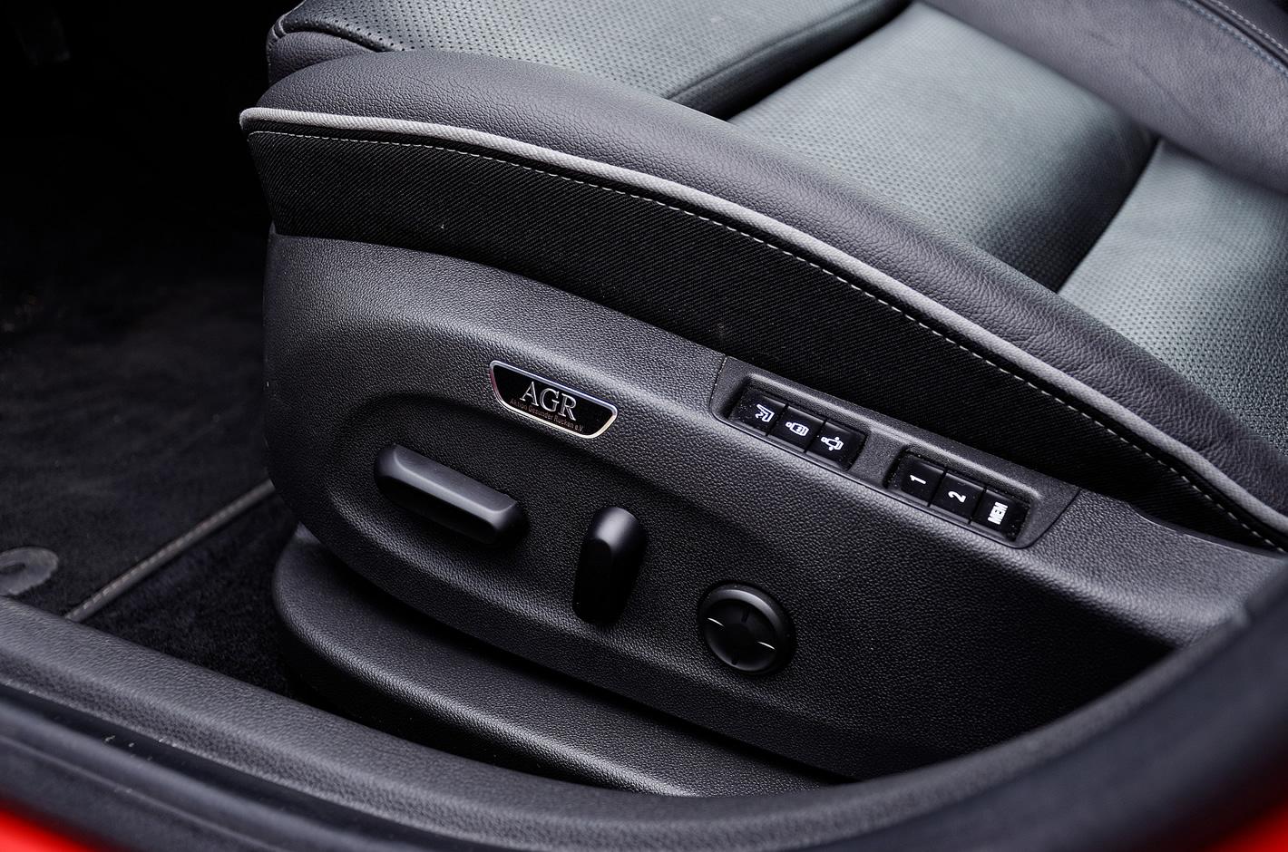 Opel Astra - regulacja foteli AGR