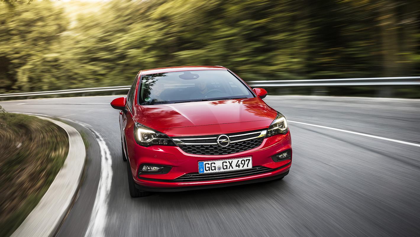 Opel Astra - świetne prowadzenie