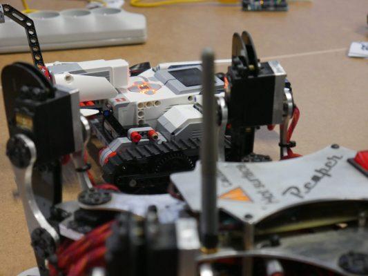 zbudowane roboty