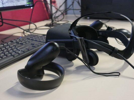 urządzenia VR w pracy