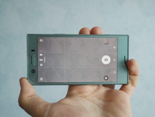 sony xperia xz1 compact aparat