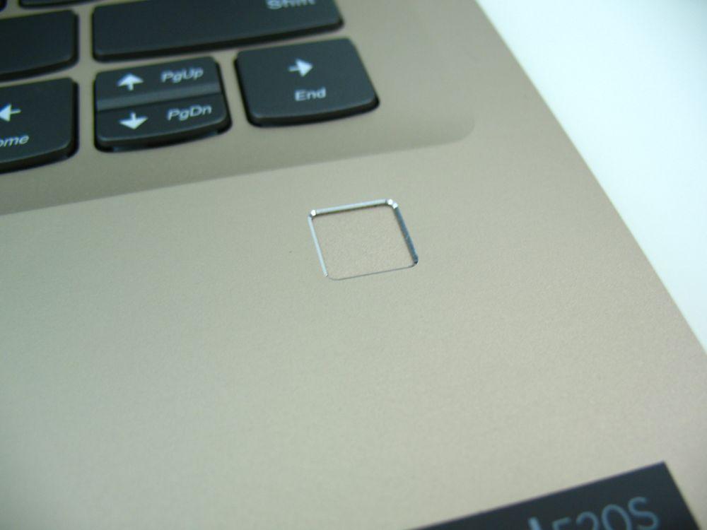 Lenovo IdeaPad 520s posiada skaner linii papilarnych