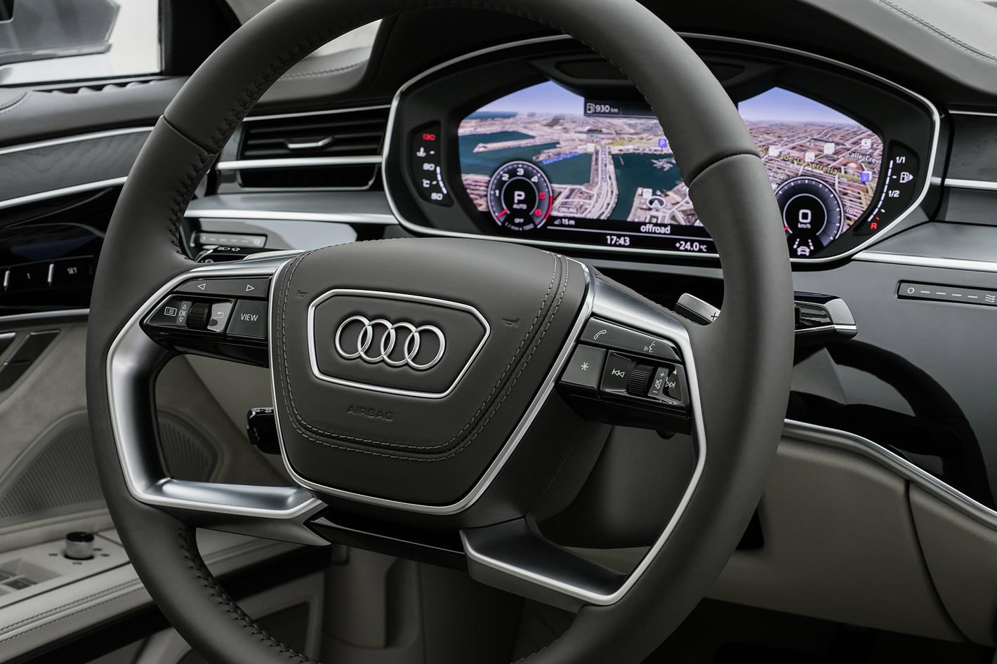 Kierownica nowego Audi A8
