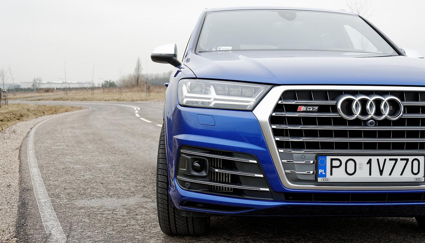 Audi SQ7 TDI - masywny grill