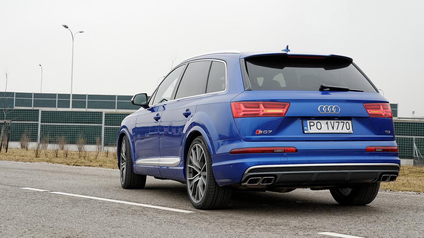 Audi SQ7 TDI - zaawansowana technika w zawieszeniu