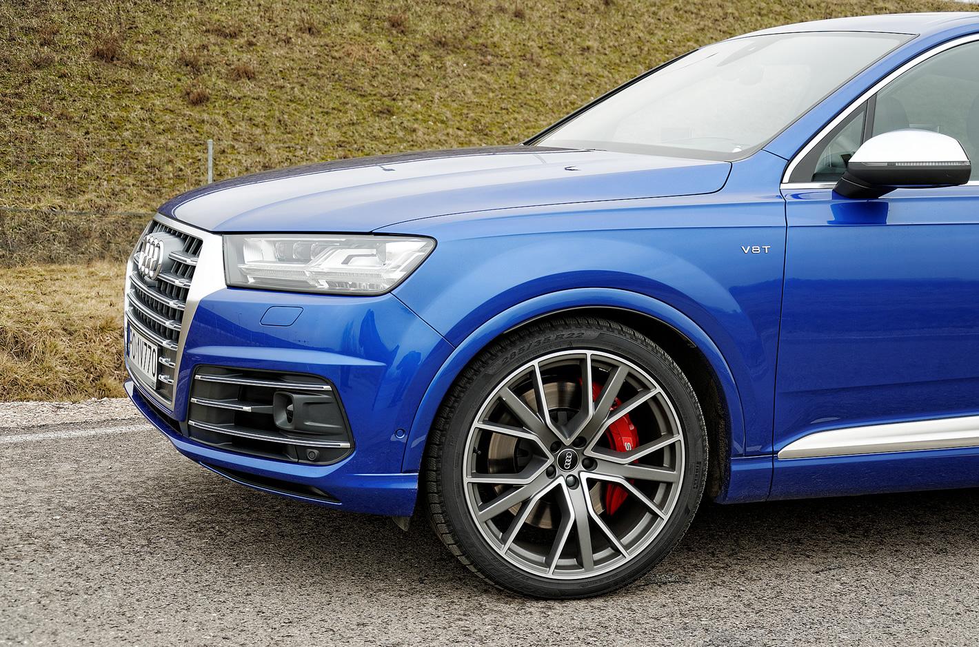 Audi SQ7 TDI - potężne, 22-calowe felgi