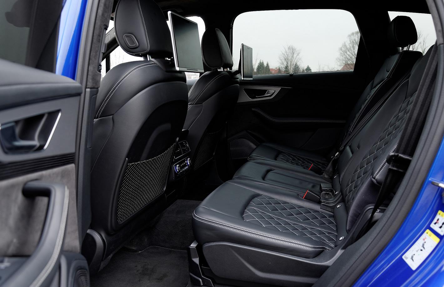Audi SQ7 TDI - przestronne wnętrze