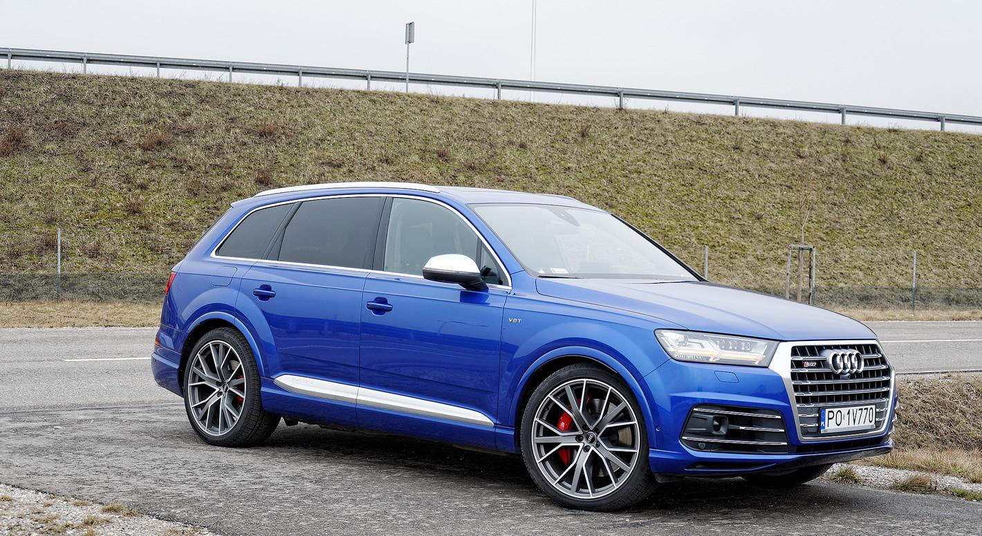 Audi SQ7 TDI - luksusowy i bardzo zwinny SUV