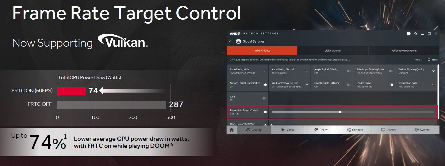 Radeon Software Frame Rate Target Control