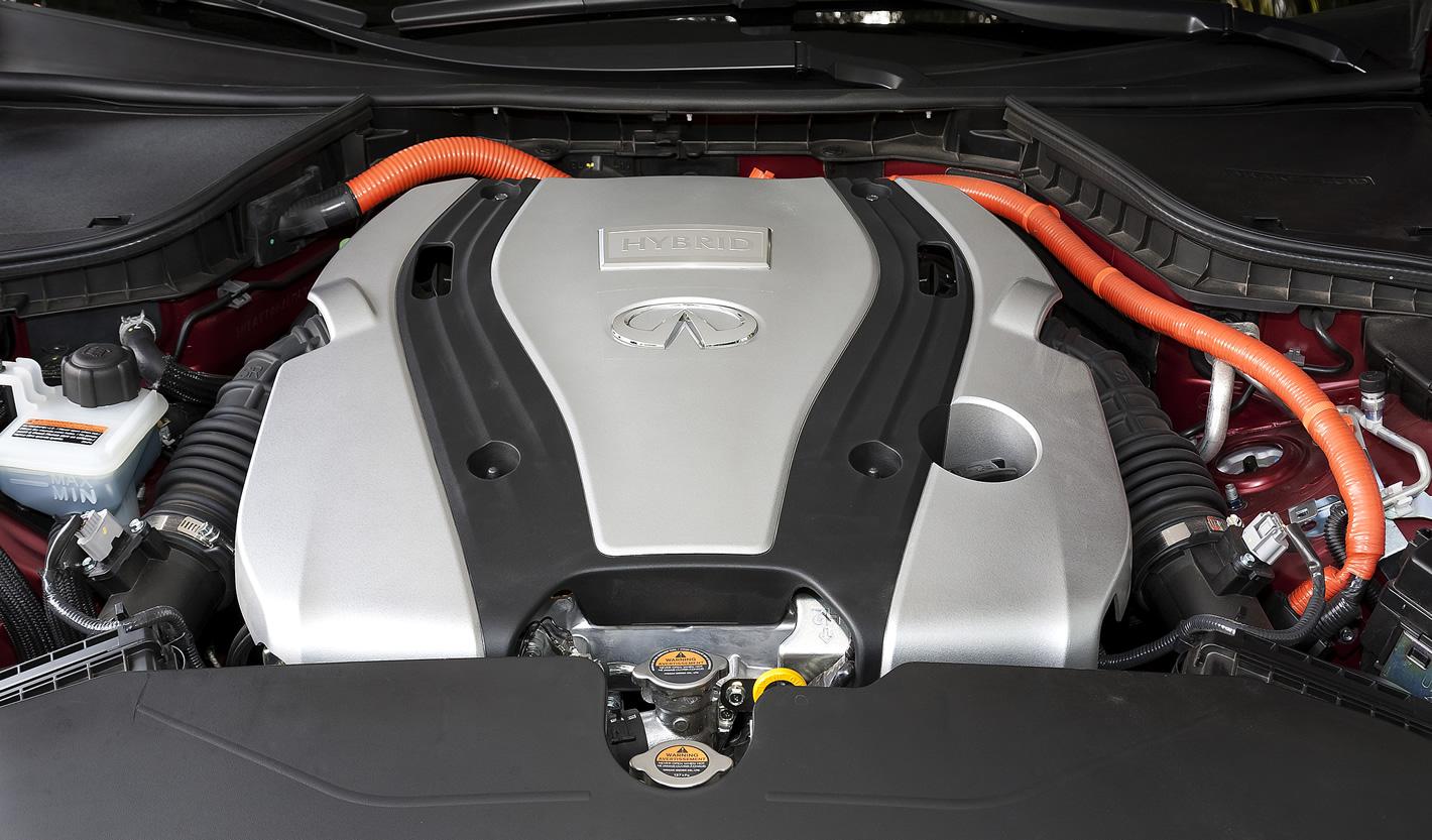 Jednostka napędowa w Infiniti Q50S Hybrid AWD