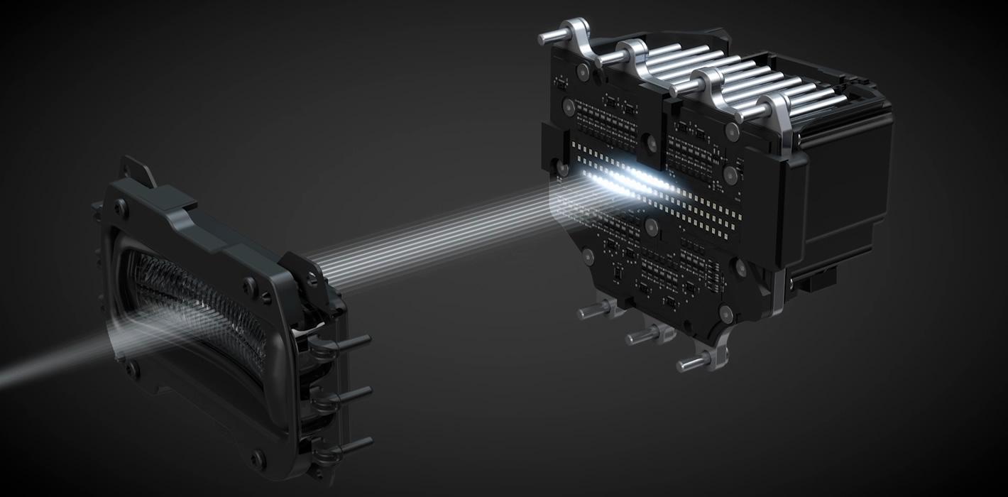 Multibeam LED