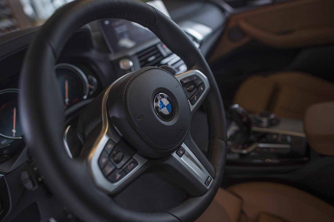 Kierownica w BMW X3 (2018)