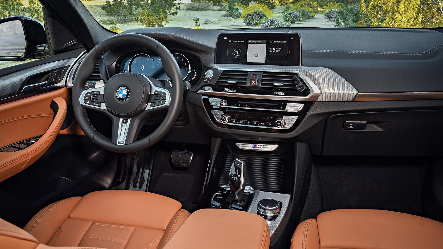 Wnętrze BMW X3