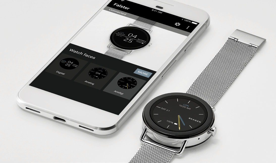 SKAGEN smartwatch Android