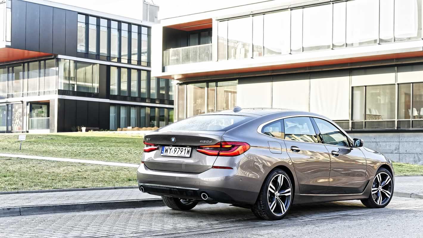 BMW Serii 6 Gran Turismo - porywająca stylistyka