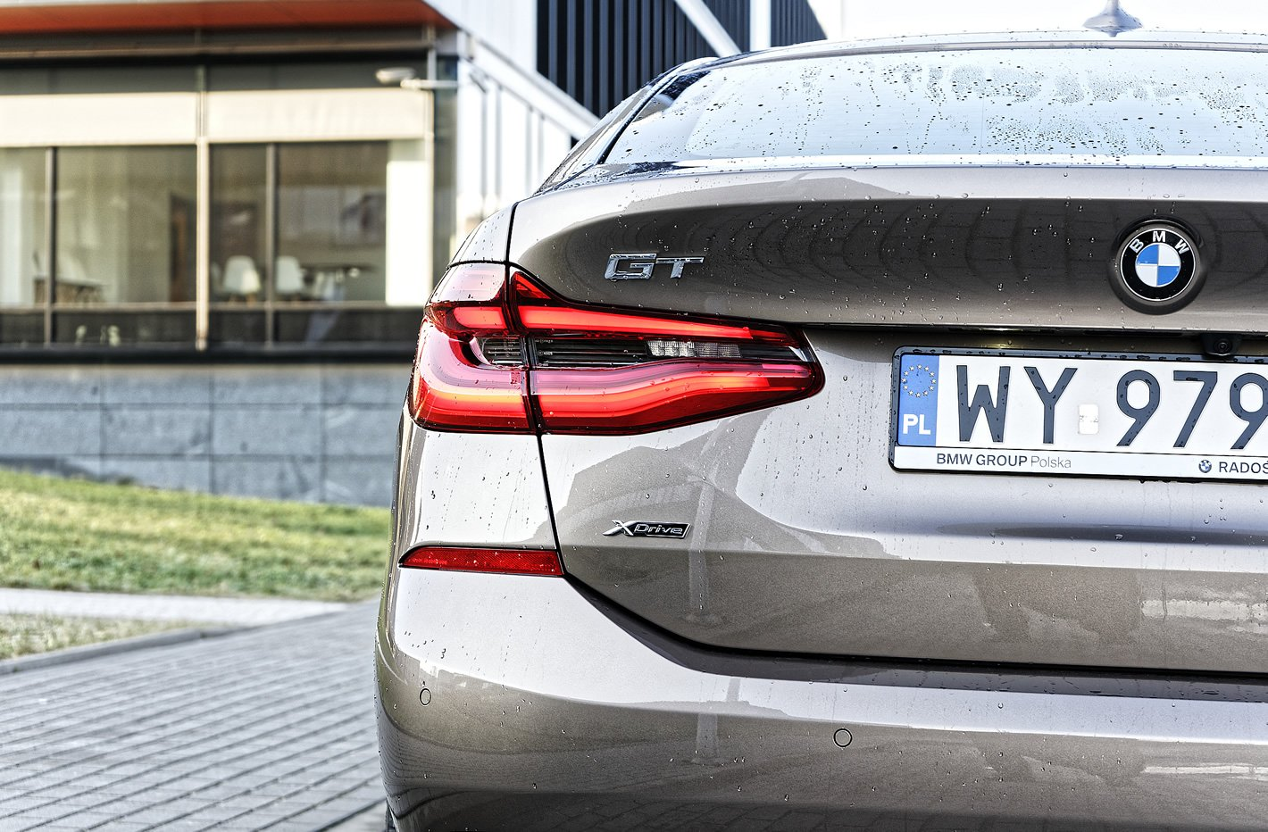 BMW Serii 6 Gran Turismo - tylny reflektor