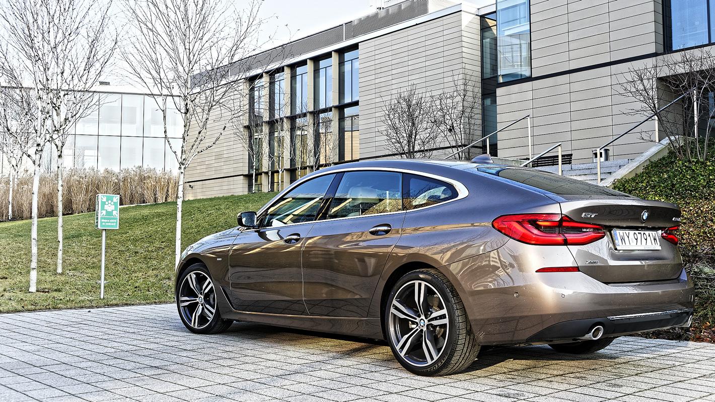 BMW Serii 6 Gran Turismo - cenowo między serią 5 a 7