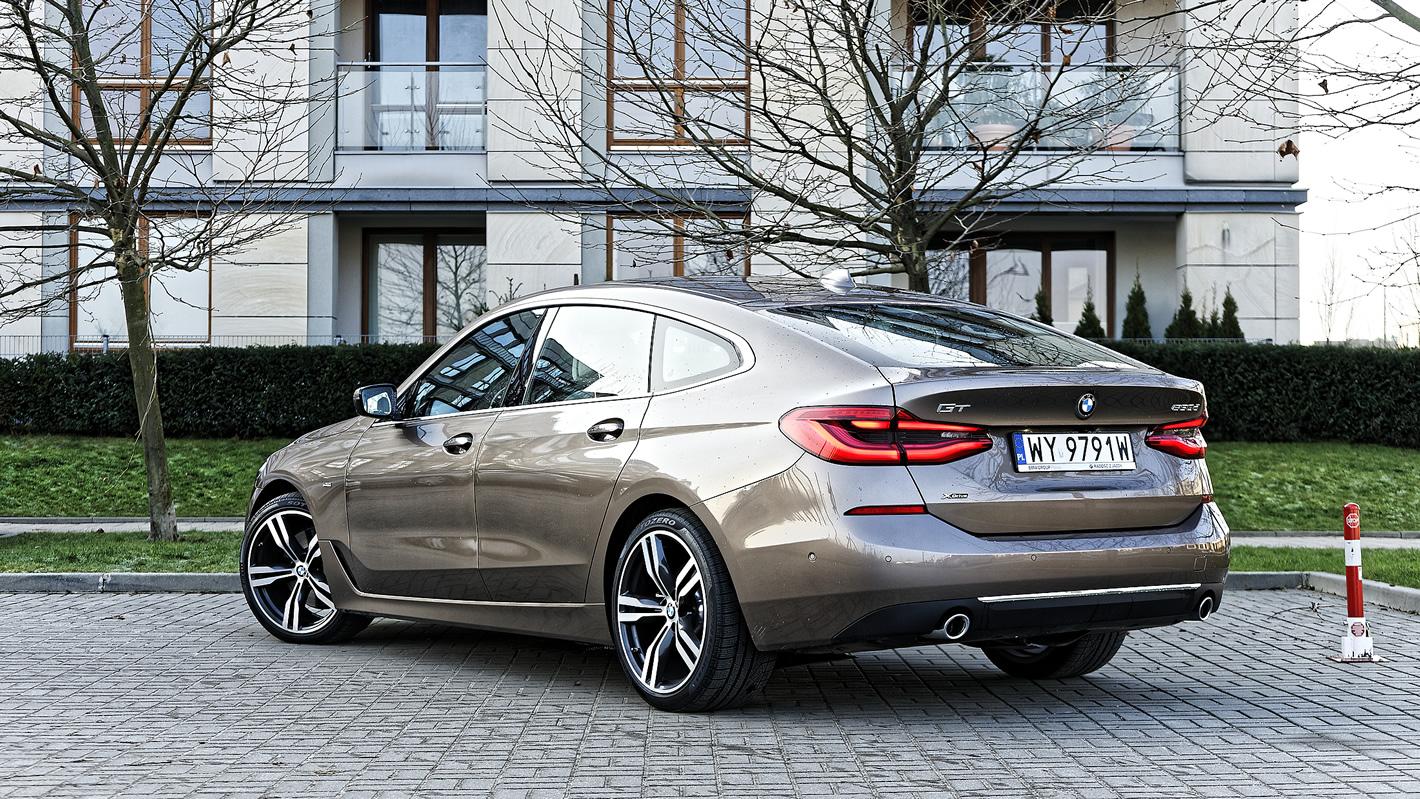BMW Serii 6 Gran Turismo z tyłu