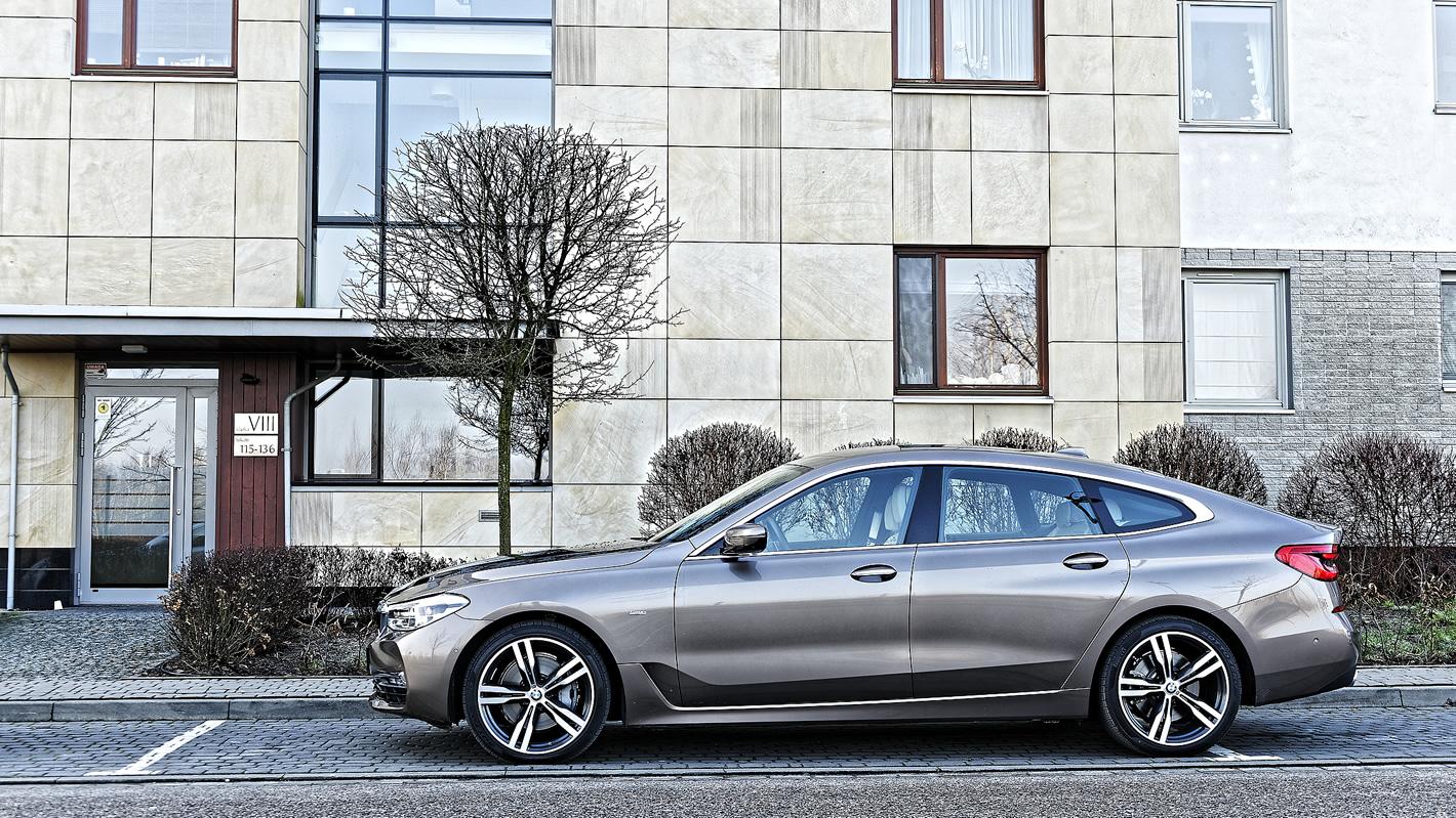 BMW Serii 6 Gran Turismo z boku