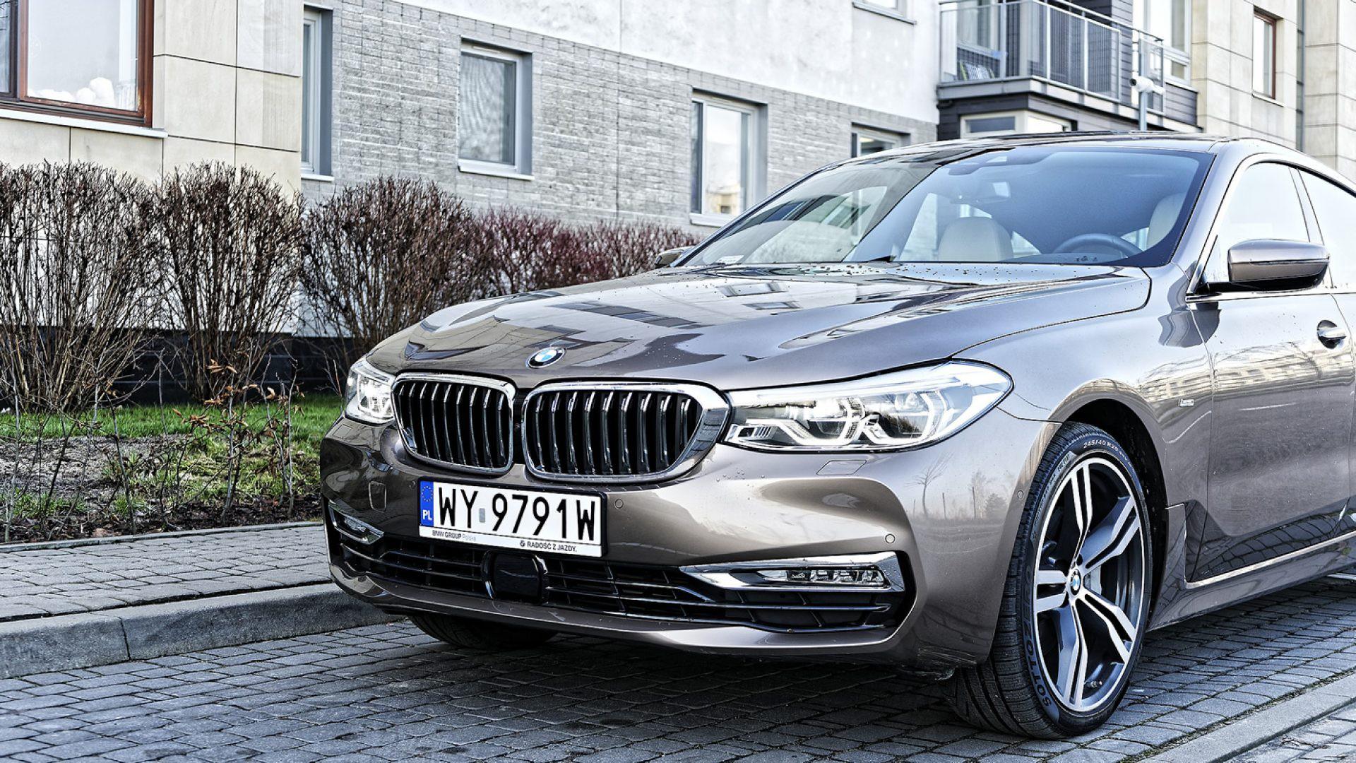 BMW Serii 6 Gran Turismo - adaptacyjne reflektory