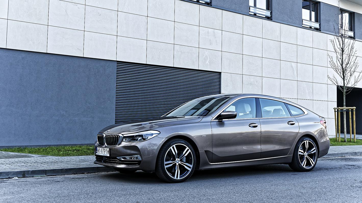 BMW Serii 6 Gran Turismo - elegancki prestiż