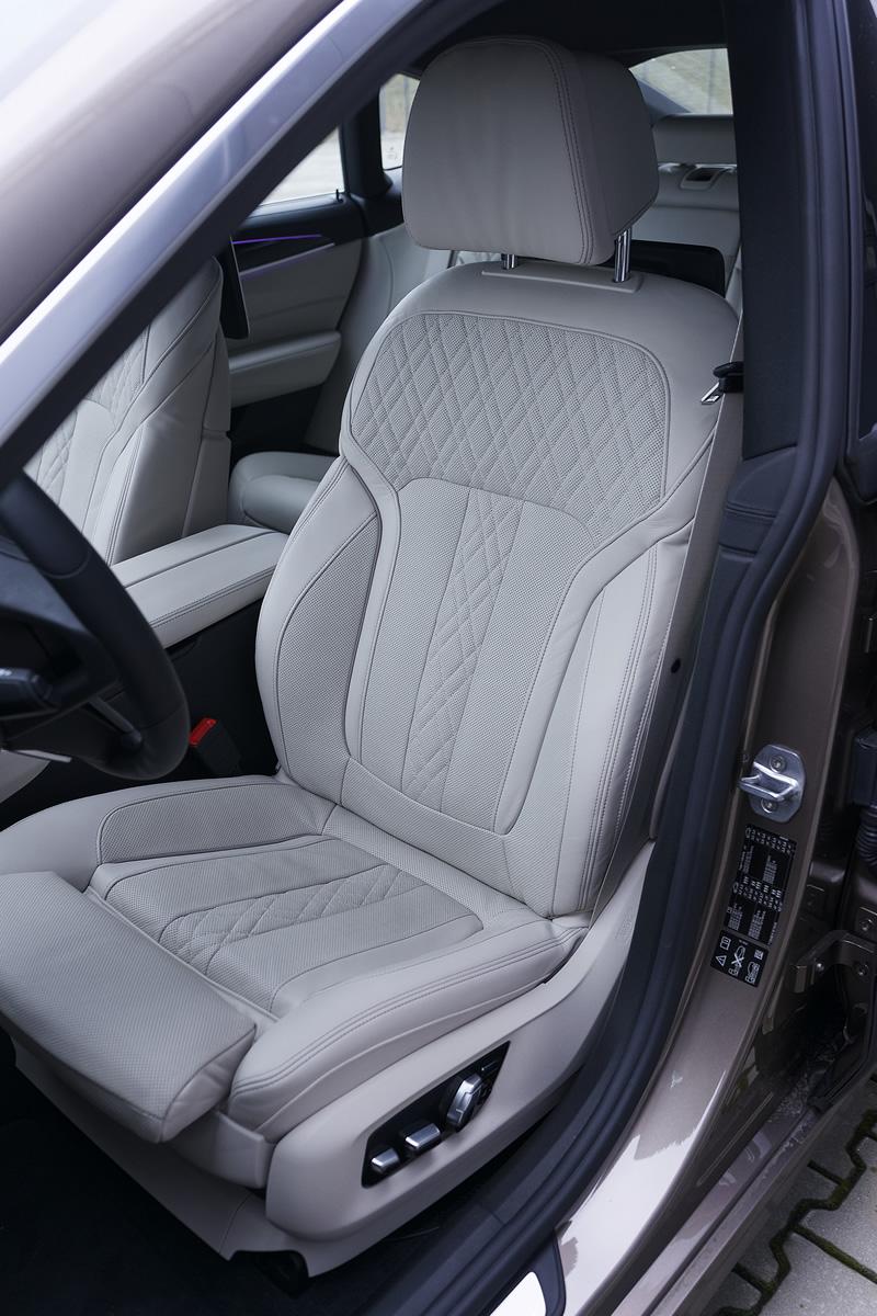 BMW Serii 6 Gran Turismo - przednie fotele