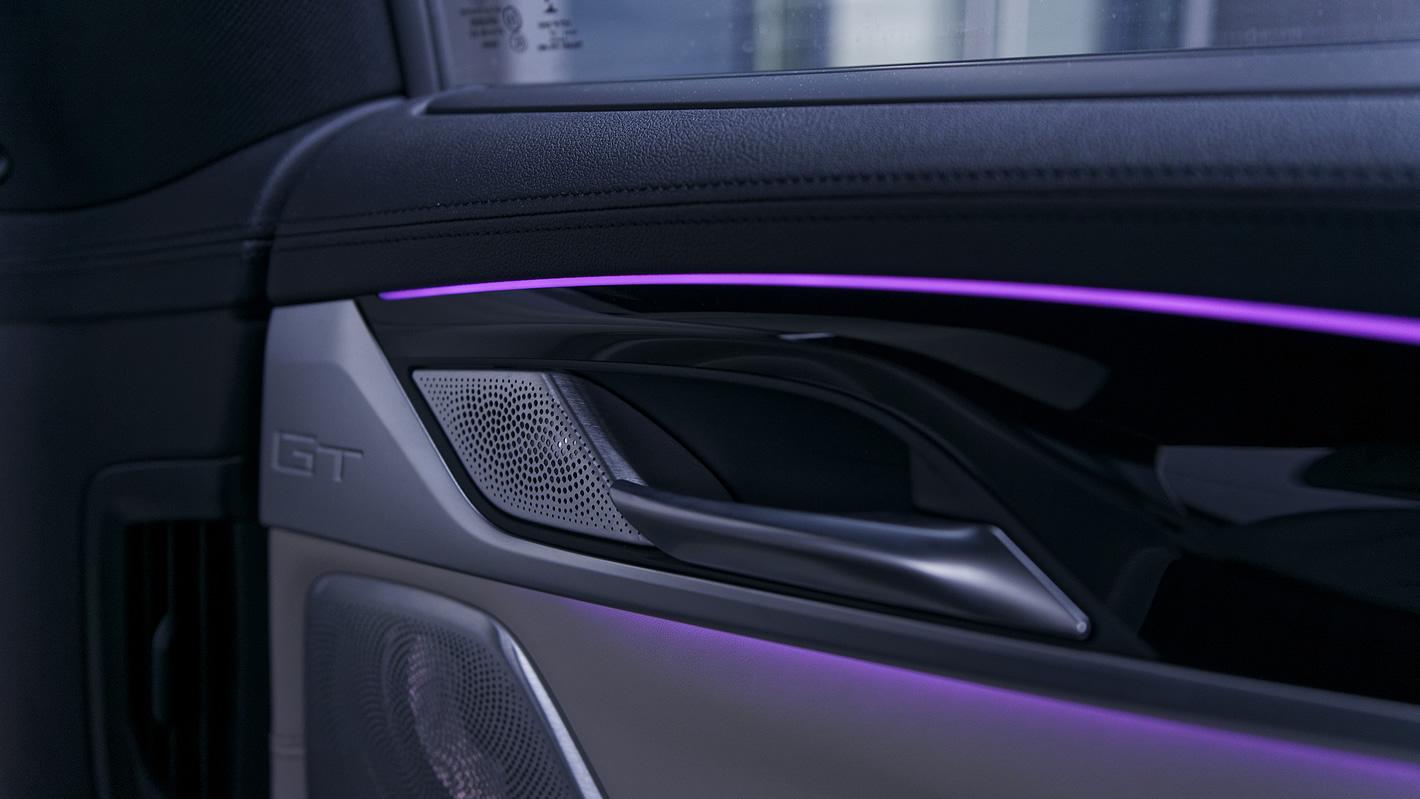 BMW Serii 6 Gran Turismo - podświetlenie ambient