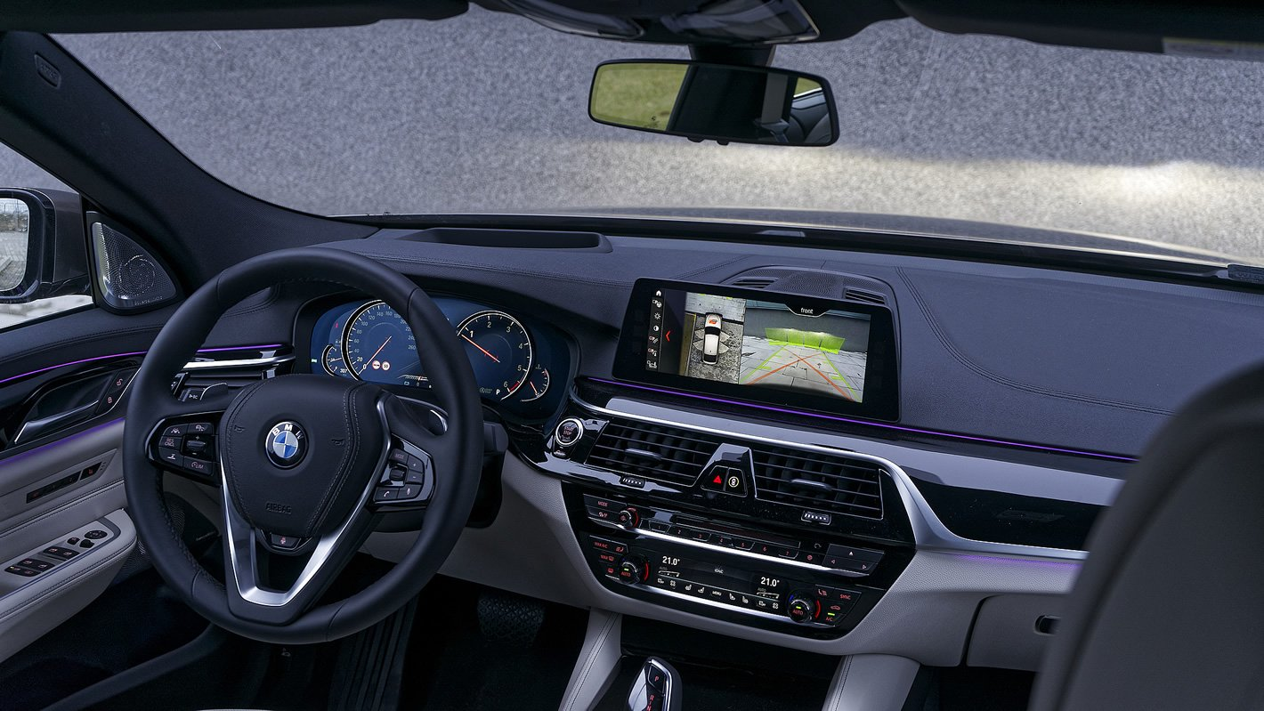 BMW Serii 6 Gran Turismo - kokpit i kamera 360 stopni