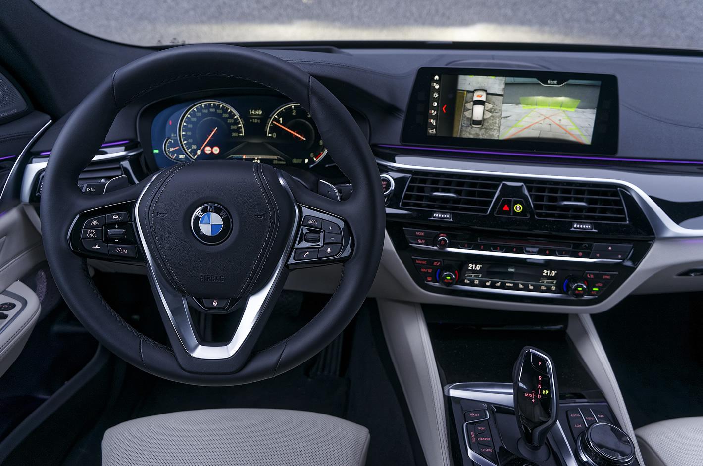 BMW Serii 6 Gran Turismo - zaawansowany system iDrive